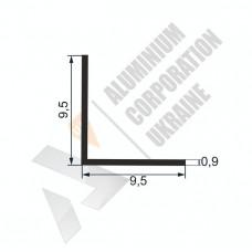 Уголок алюминиевый  <br> 9,5х9,5х0,9 - БП АК-5551 1