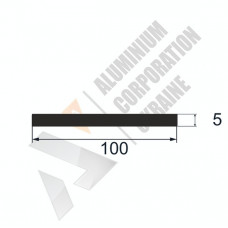 Алюминиевая полоса <br> 100х5 - БП 00569 1