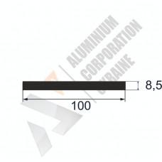 Аюминиевая полоса <br> 100х8,5 - АН ОК-312-675 1