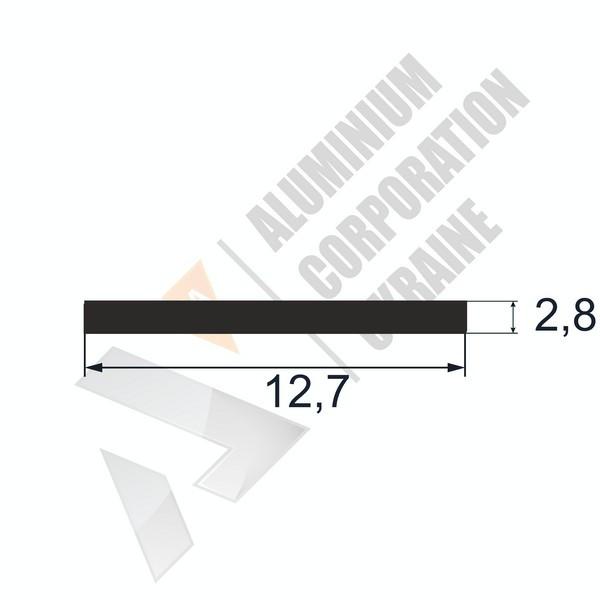 Алюминиевая полоса | 12,7х2,8 - БП 25-0036