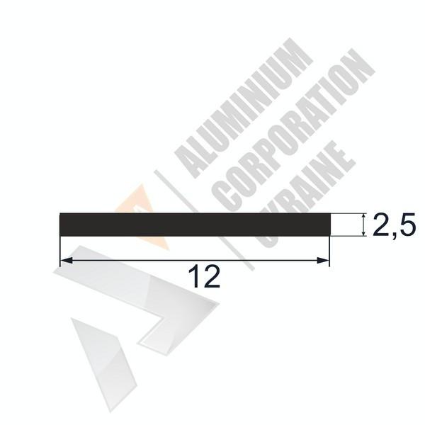 Алюминиевая полоса | 12х2,5 - БП 25-0021
