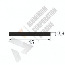 Аюминиевая полоса <br> 15х2,8 - БП SX-MF3809-89 1