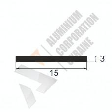 Аюминиевая полоса <br> 15х3 - АН 00599 1