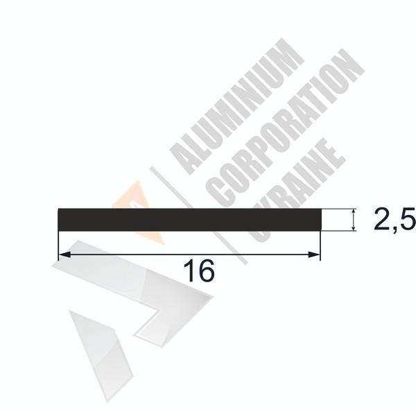 Алюминиевая полоса | 16х2,5 - БП БПО-1239-105