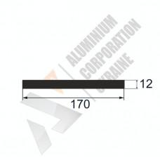 Аюминиевая полоса <br> 170х12 - АН SX-170x12-829 1