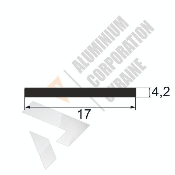 Алюминиевая полоса   17х4,2 - БП 25-0064