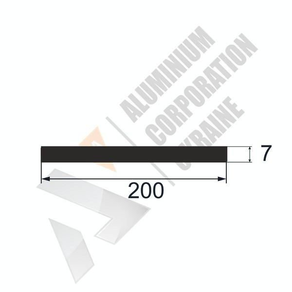 Алюминиевая полоса   200х7 - АН 26-0611