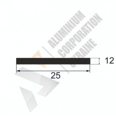 Аюминиевая полоса <br> 25х12 - БП АВА-5657-217 1
