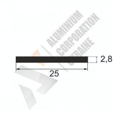 Аюминиевая полоса <br> 25х2,8 - АН АК-12376-196 1