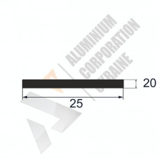 Аюминиевая полоса <br> 25х20 - АН АВА-5649-218 1
