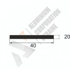 Аюминиевая полоса <br> 40х20 - АН мак --.9997-43-397 1