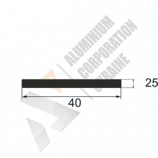 Аюминиевая полоса <br> 40х25 - АН АВА-5232-399 1