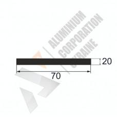 Аюминиевая полоса <br> 70х20 - АН БПО-1619-575 1
