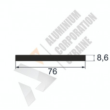Аюминиевая полоса <br> 76х8,6 - АН АК-12439-599 1