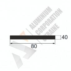 Аюминиевая полоса <br> 80х40 - АН АВА-5455-633 1