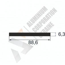 Аюминиевая полоса <br> 88,8х6,3 - БП АК-12442-642 1