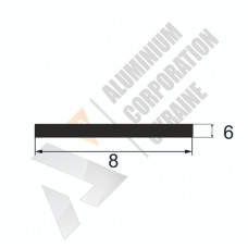 Аюминиевая полоса <br> 8х6 - АН БПО-0403-11 1