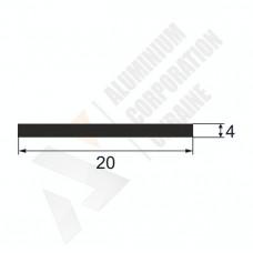 Алюминиевая полоса <br> 20х4 - АН 00568 1