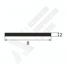 Аюминиевая полоса <br> 8х2 - АН PI-900-5 1