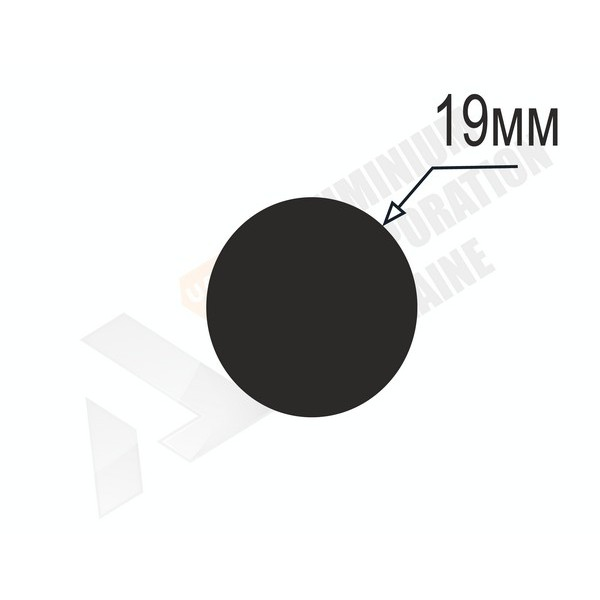 Алюминиевый пруток | 19мм - БП 21-0029