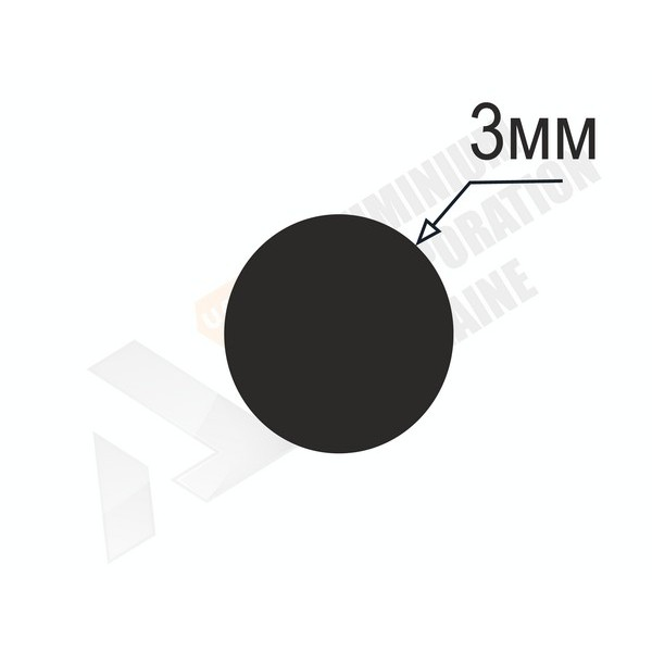 Алюминиевый пруток | 3мм - БП ПАС-0838-6