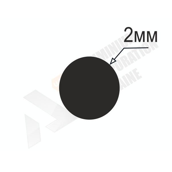 Алюминиевый пруток | 2мм - БП 21-0001