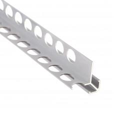 Алюминиевый профиль внешний квадратный 31мм х 31мм двусторонний 5419 1