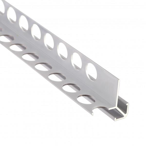 Алюминиевый профиль внешний квадратный 31мм х 31мм двусторонний 5419