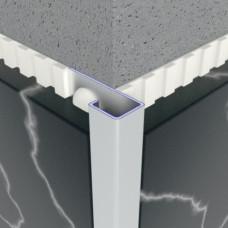 Алюминиевый профиль внешний квадратный 13,5мм х 33,5мм 5417 1