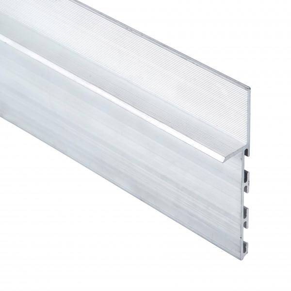 Алюминиевый плинтус скрытого монтажа 80мм 3104