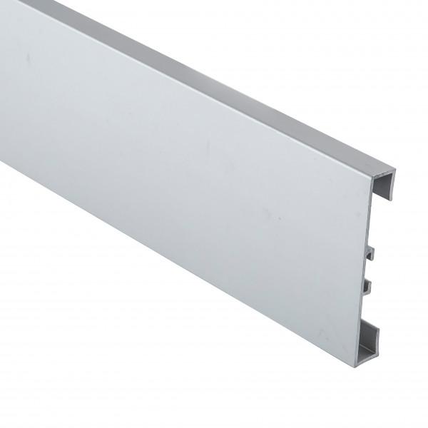 Алюминиевый плинтус накладной 60 мм - 1 3110