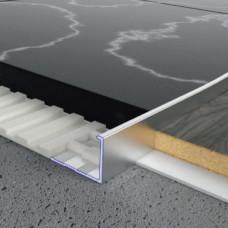 Алюминиевый профиль L-образный 14мм х 20мм, прямой. 5403 1