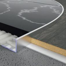 Алюминиевый профиль L-образный 14мм х 20мм, гибкий. 5403 1