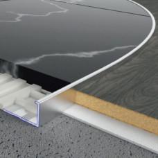 Алюминиевый профиль L-образный 11мм х 20мм, гибкий. 5404 1