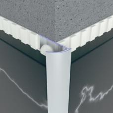 Алюминиевый профиль внешний полукруглый 12мм х 25мм 5410 1