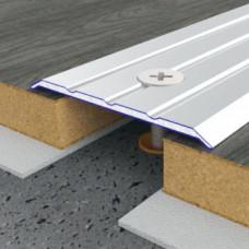 Алюминиевый порог 40 мм рифленый 5105 1