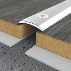 Алюминиевый порог 20 мм гладкий 5107 1