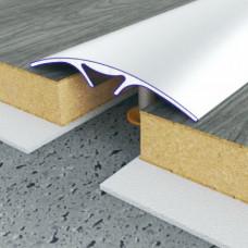 Алюминиевый порог 40 мм гладкий  5111 1