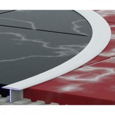 Алюминиевый профиль стыковой гибкий 13мм тавровый 5407 1
