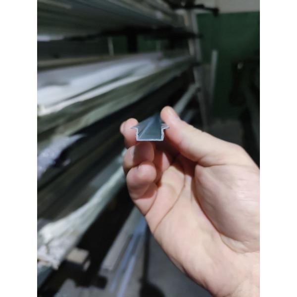 Алюминиевый светодиодный LED профиль 21х6,8 - АН 42-0001