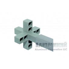 Соединитель 6-сторонний для квадратной трубы 30 х 30 х 2мм 66666 1