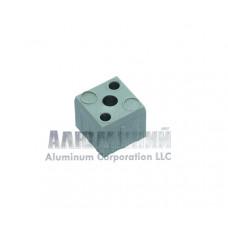 Пластиковый соединитель «кубик» для квадратной трубы 30 х 30 х 2мм 22222 1