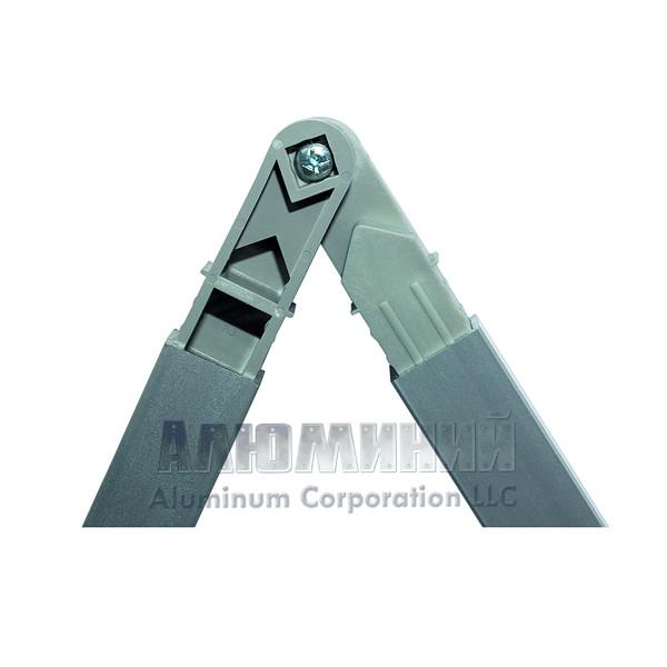 Шарнирный соединитель 40-270 градусов с винтом для квадратной трубы 20х20х1,5мм 00000
